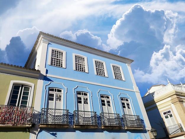 Centre historique de pelourinho de salvador bahia brésil.