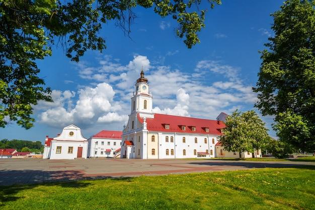 Centre historique de la ville d'orsha, biélorussie