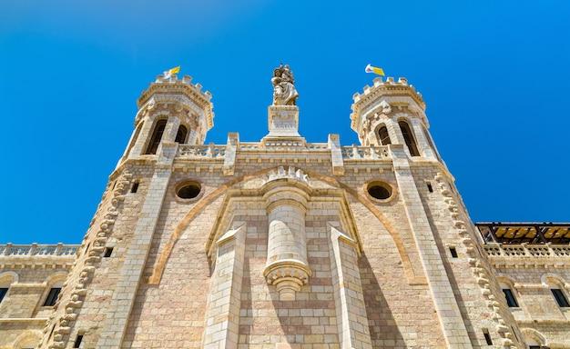 Centre notre-dame de jérusalem, construit en 1885, - israël