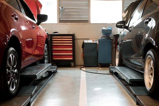 Centre de réparation et de service automobile
