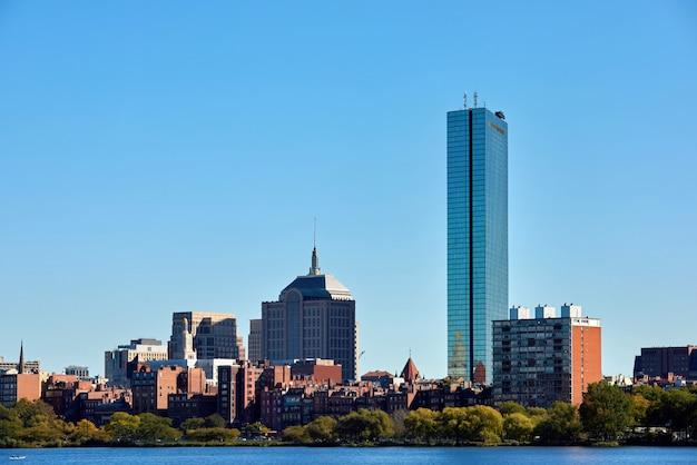 Centre-ville de boston, états-unis