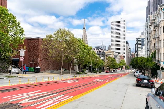 Centre-ville de san francisco à california street