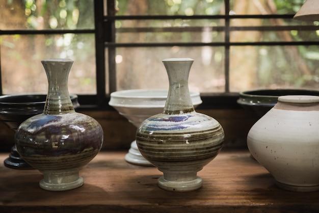 Céramique poterie d'argile
