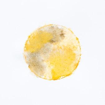 Cercle aquarelle de peinture acrylique