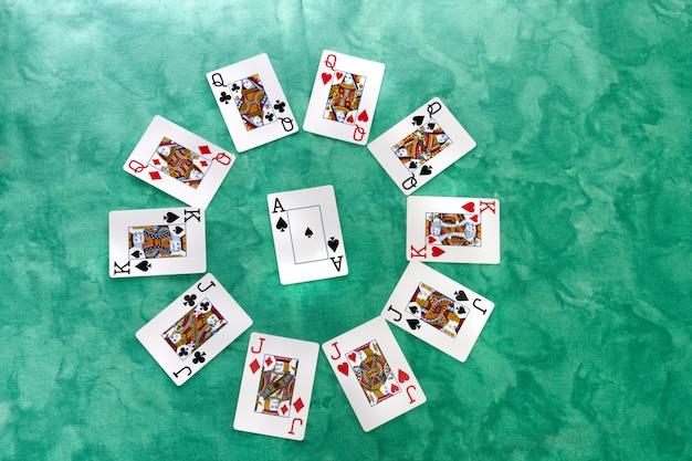 Cercle de cartes
