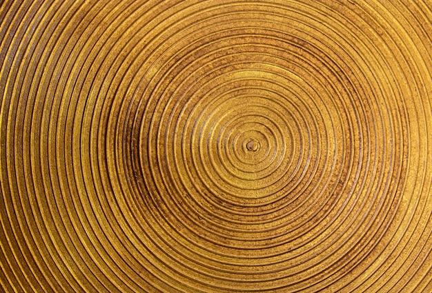 Cercle texture de l'acier doré pour l'arrière plan
