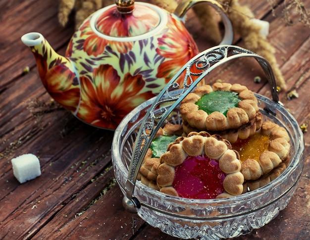 Cérémonie du thé et des bonbons