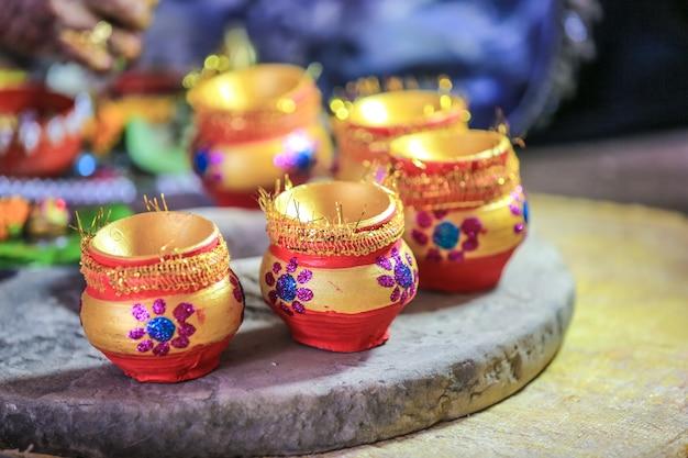 Cérémonie de mariage du maharashtra dans l'hindouisme