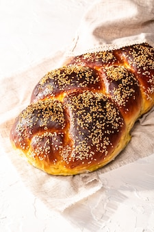Cérémonie de shabbat ou sabbat kiddouch