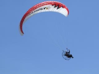 Cerf-volant, de l'air