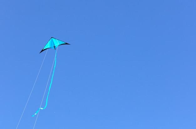 Cerf-volant bleu