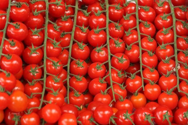 Cerise de tomates sur le marché