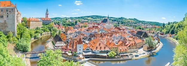 Cesky kromlov république tchèque image de cesky krumlov situé dans le sud de la république tchèque