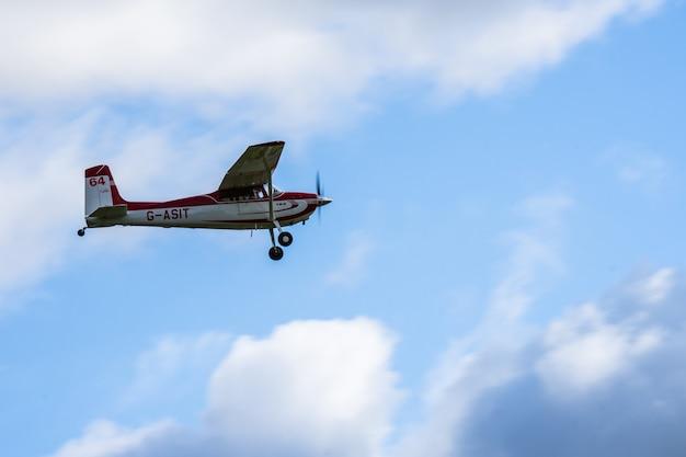 Cessna 180. jour de la course à shuttleworth.