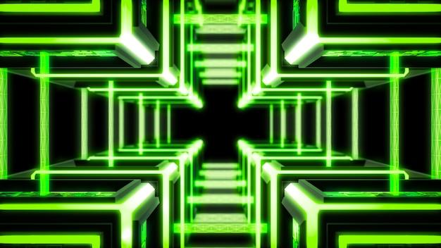 Chaîne de blocs, fond de technologie moderne sci fi.