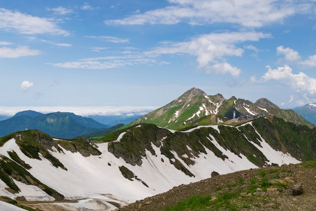 Chaînes de montagnes du caucase