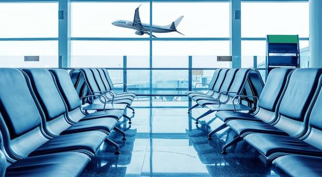 Chaise d'aéroport