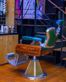 Chaise de coiffeur vintage