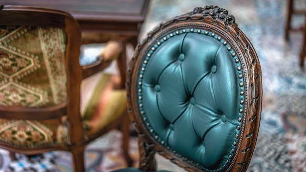 Chaise coussin vintage