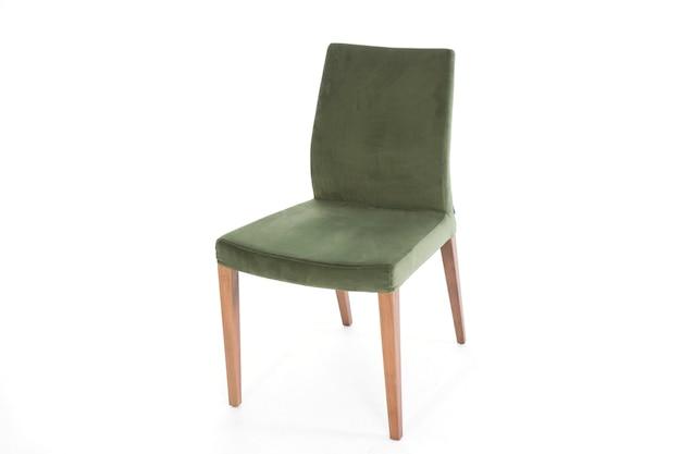 Chaise moderne de meubles de style de vie fond blanc