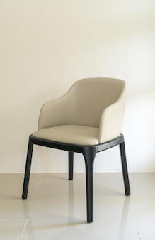 Chaise de salle à manger en cuir