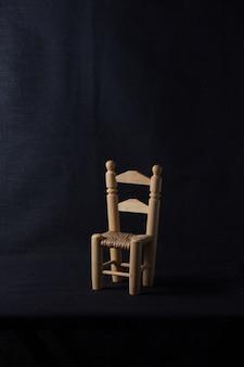 Chaise traditionnelle faite à la main