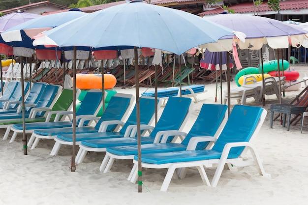 Chaises de plage
