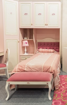 Chambre bébé aux couleurs pastel