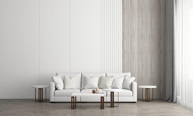 La chambre à coucher et le design d'intérieur de fond de texture de mur de briques