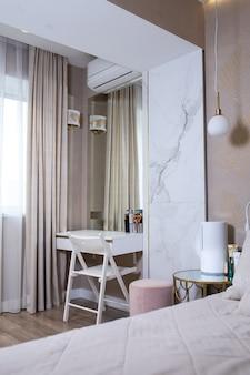 Chambre de design d'intérieur moderne pour une fille.