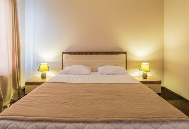 Chambre double à l'hôtel