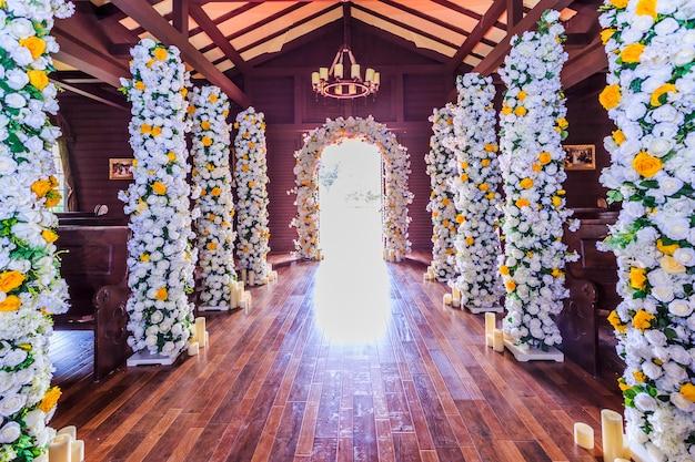 Chambre avec des fleurs