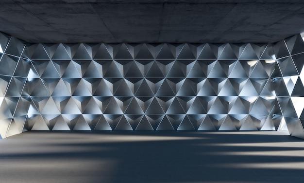 Chambre géométrique triangle