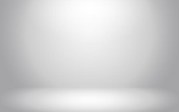Chambre gris foncé vide avec fond abstrait gris dégradé pour afficher votre produit