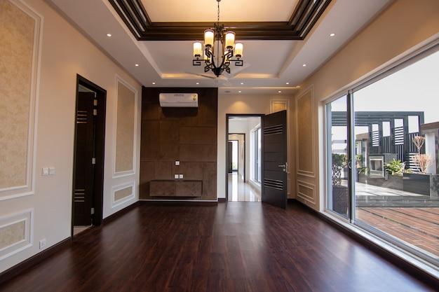 Chambre de luxe vide