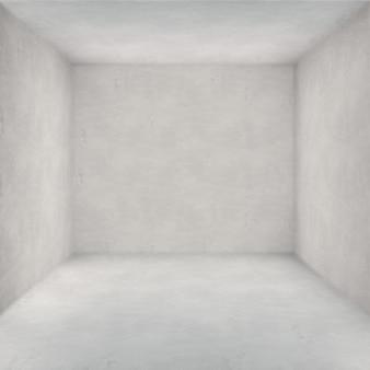 Chambre avec des murs blancs