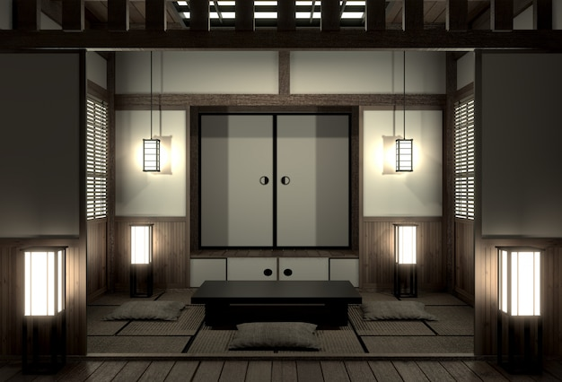 Chambre d'origine à la japonaise