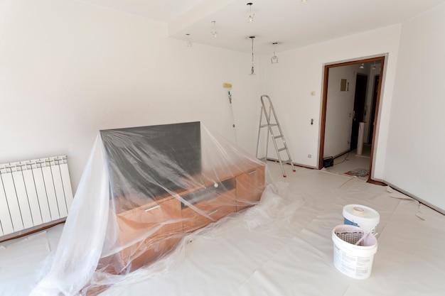 Chambre prête à peindre