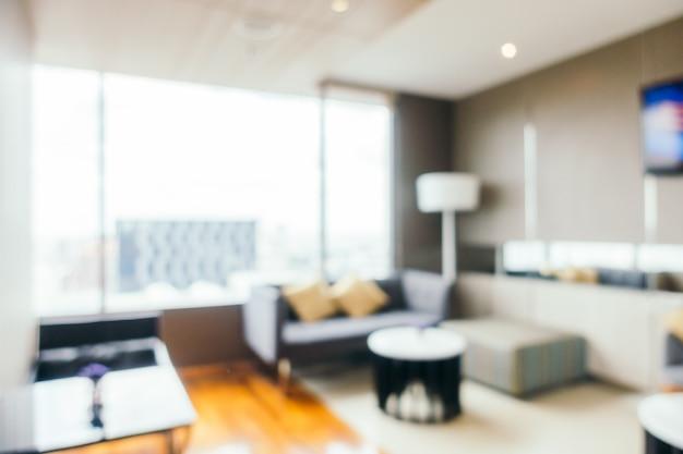 Chambre tidy avec une grande fenêtre arrière-plan