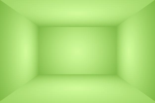 Chambre Vide De Fond De Studio Abstrait Dégradé Vert Clair De Luxe Avec Un Espace Pour Votre Texte Et Votre Image Photo gratuit