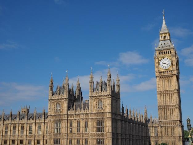 Chambres du parlement à londres