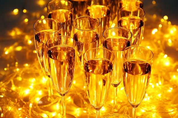 Le champagne est compris dans toutes les boissons de fête