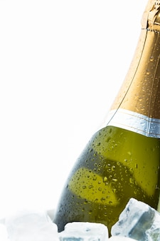 Champagne sur glace