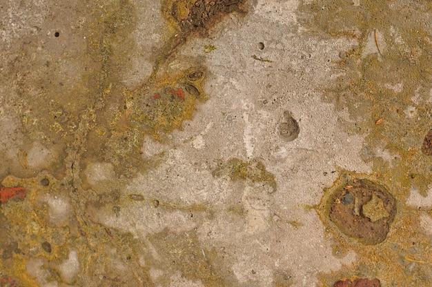 Chape de ciment dans la rue, arrière-plan