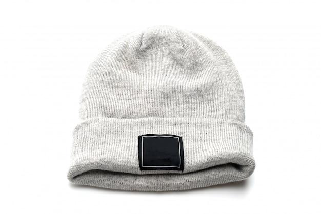 Chapeau de laine gris