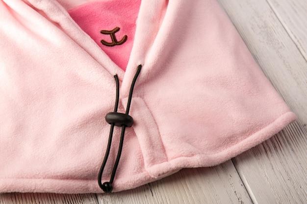 Chapeau pour enfants en forme de mouton rose