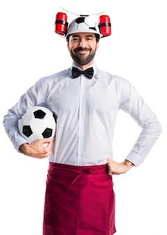 Chapeau de service de travail en cercle d'homme