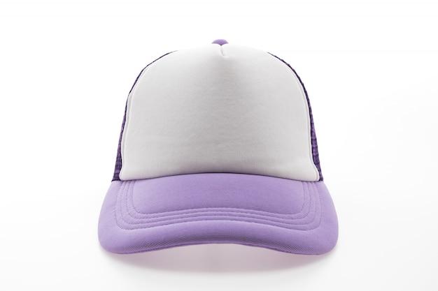 Chapeau visière signe textile fond