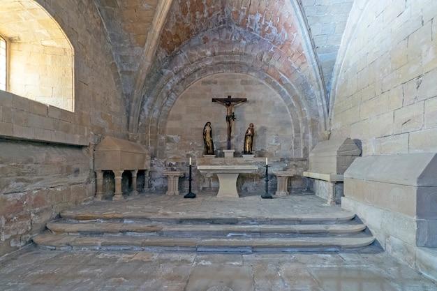 Chapelle catholique dans une église