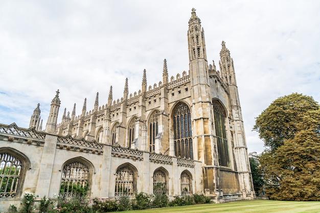 Chapelle du king's college à cambridge, royaume-uni